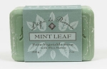 Bar - Shea Mint Leaf Bar Soap - Made by Lepi De Provence