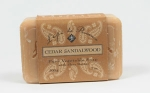 Bar -Shea Cedar Sandalwood Bar Soap - Made by Lepi De Provence