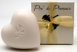 Heart Shaped French Soap - Made by Pre De Provence