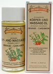 Orange and Cardamom Body & Massage Oil. - Made by Dresdner Essenz
