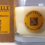 Nouvelle Mohogany and Tobacco Candle in Glass